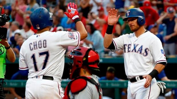 Rougned Odor Shin Soo Choo Key Sampsons First Win As Texas