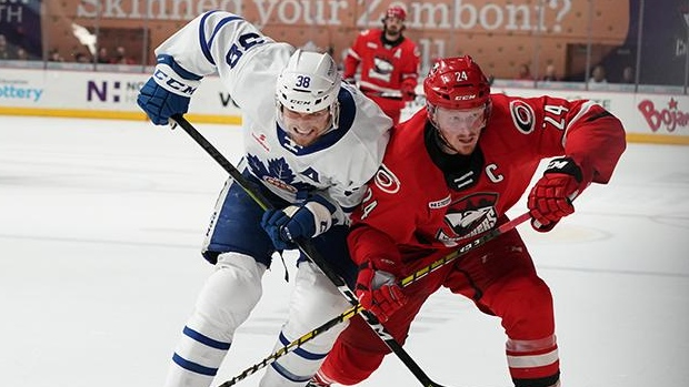 Charlotte Checkers beat Toronto Marlies to tie Eastern Conference Final at 1-1 - TSN.ca