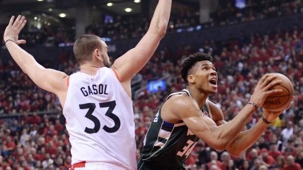 Giannis Antetokounmpo leads the way, four Toronto Raptors crack SI's NBA Top 100 list - TSN.ca
