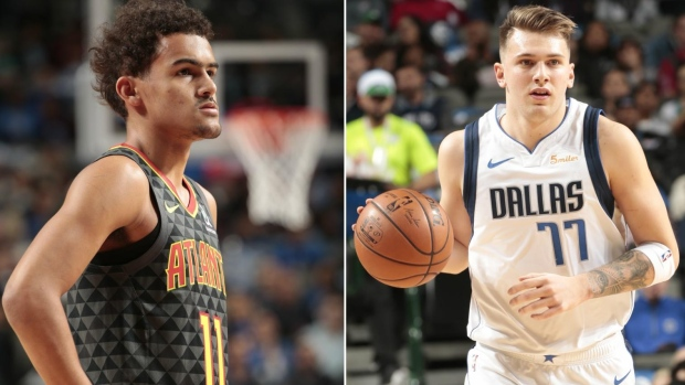 Trae Young Luka Doncic