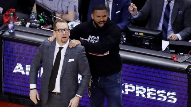 Bucks Coach Bud on Drake: 'No place for fans' on the court