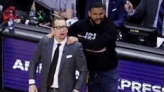 Drake and Nick Nurse