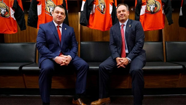 D.J. Smith and Pierre Dorion