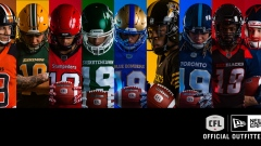 CFL home uniforms 2019