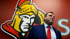 New Ottawa Senators head coach D.J. Smith