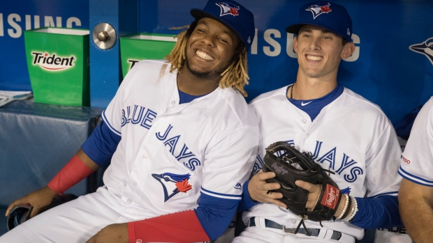 Vladimir Guerrero Jr. and Cavan Biggio