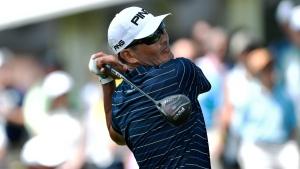 Tanigawa, Barron share PGA Tour Champions lead in St. Louis