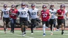 Montreal Alouettes at training camp