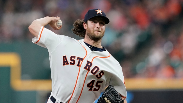low priced 0d2aa 78bd4 Gerrit Cole's big game helps Houston Astros down Chicago ...