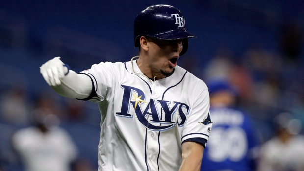 92c351e4a Rays walk off Blue Jays for series sweep