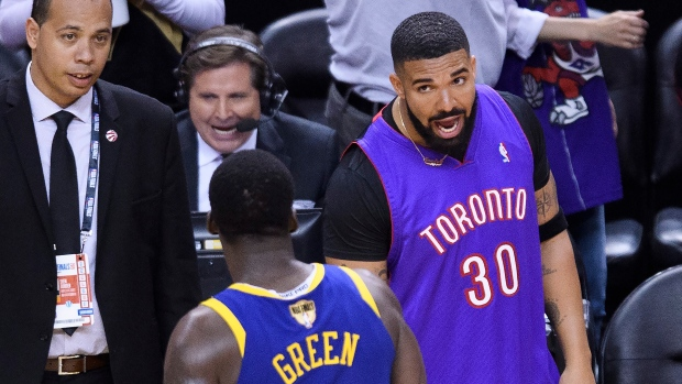 hot sale online e0b8b 1a918 Drake shows no signs of slowing down in Game 1 - TSN.ca