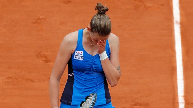 Second seed Karolina Pliskova knocked out of French Open