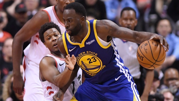 cb8f44b0299 Warriors' Draymond Green not about to rip Drake after heated exchange -  TSN.ca