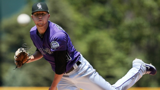 Struggling Rockies lefty Kyle Freeland optioned to Triple-A