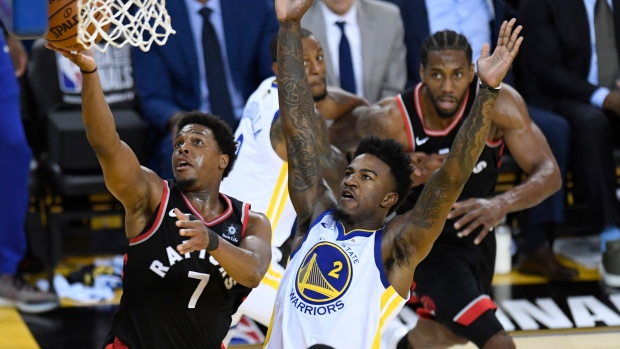 toronto vs golden state warriors