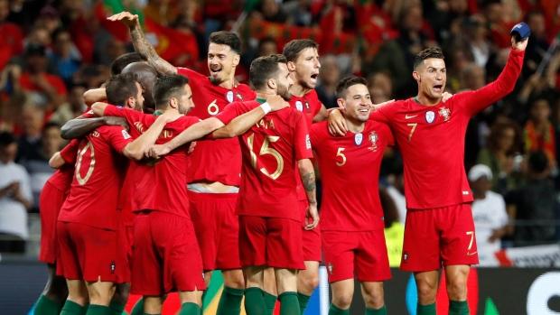 Portugal Beats Netherlands To Win First Nations League Final Tsn Ca