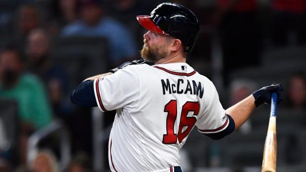 Braves C McCann says he's retiring - TSN