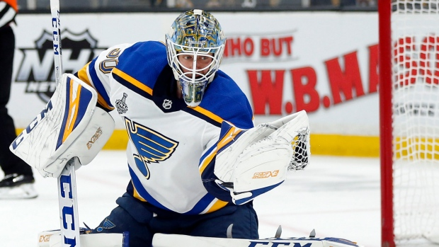 St. Louis Blues, goaltender Jordan Binnington agree to 2-year, $8.8M deal - TSN.ca