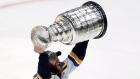 Alex Pietrangelo with the Stanley Cup