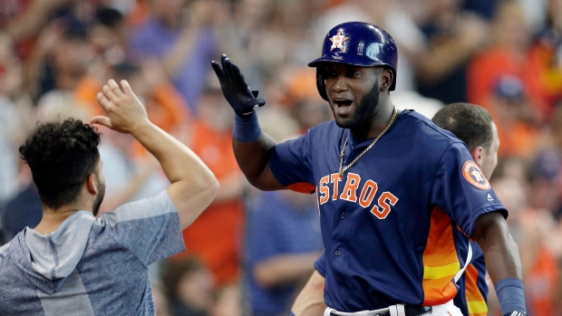 Astros' Yordan Alvarez named AL Rookie of the Year