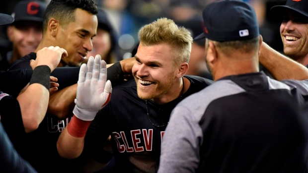 Cleveland's Bauers hits for cycle at Detroit