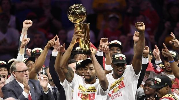 b472de186a2 Classy Golden State Warriors congratulate TorontoRaptors on first NBA  championship with full-page ad - TSN.ca