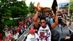 The latest from the Raptors parade in Toronto Article Image 0