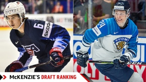 Hughes edges Kakko in TSN's final draft rankings
