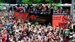Employers take flexible approach to Raptors parade as huge numbers head downtown Article Image 0