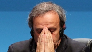 Platini, a soccer great now touched by scandal