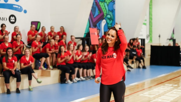Her Mark Female Empowerment Summit Founded By Tsn S Kate Beirness Returns To Toronto July 20 Tsn Ca