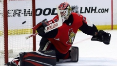Goalie Marcus Hogberg signs two-year extension with Ottawa Senators Article Image 0
