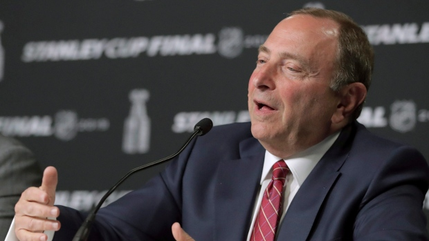 Gary Bettman Nhl Board Approves Arizona Coyotes Sale New Arena