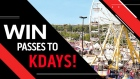 Win Passes to KDAYS 2019