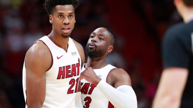 Miami Heat centre Hassan Whiteside exercised his $27 1