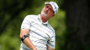 Kelly makes ace on his way to winning first senior major