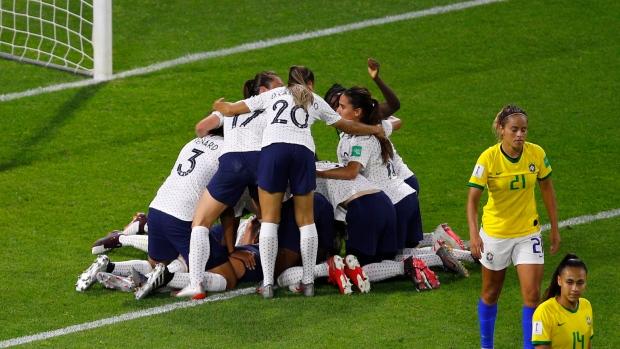 France vs. Brazil score