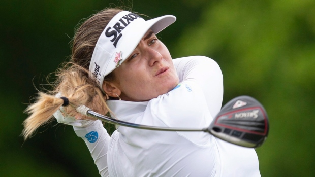 Hannah Green takes five-stroke lead at Portland Classic; Brooke Henderson eight back - TSN.ca