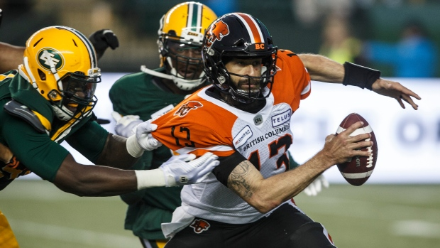 BC Lions coach DeVone Claybrooks doesn't pull Mike Reilly as he preaches playing until final whistle - TSN.ca