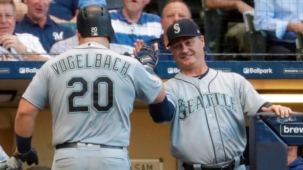 new styles b7bbd 23f80 Dan Vogelbach's homer lifts Seattle Mariners to win over ...