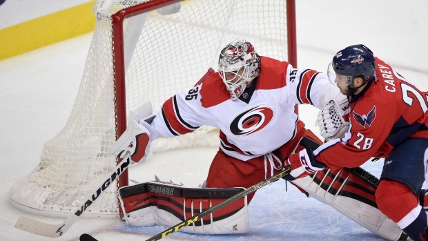 Hurricanes re-sign Nedeljkovic to 2-year deal