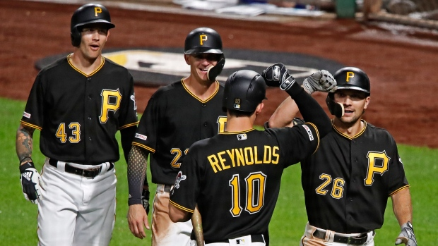 82186179 Frazier stays hot, leads Pittsburgh Pirates by listless Chicago Cubs ...