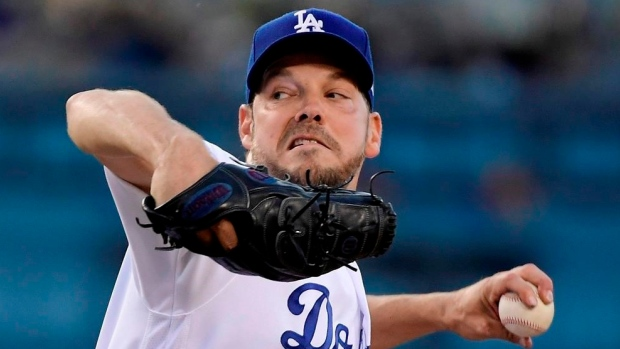 Dodgers will bring in the New Year without Rich Hill