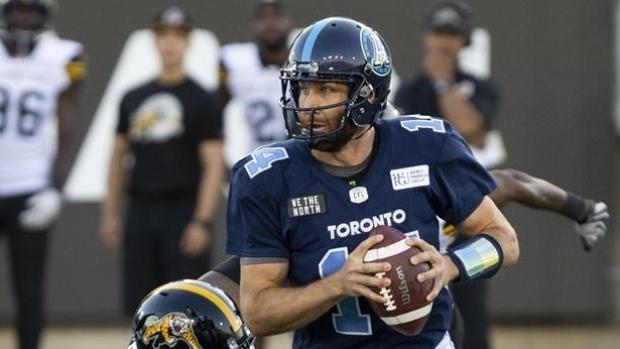 McLeod Bethel-Thompson to start at quarterback for Toronto ...