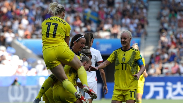 Sweden captures third place at World Cup