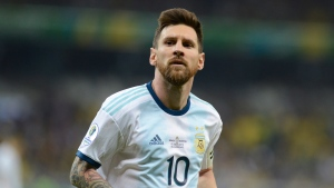 Messi suspended from Argentina for 3 months