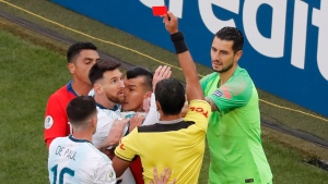 Copa America: Messi sent off as Argentina takes 3rd place