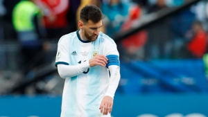 Another side of Messi appears in Copa America