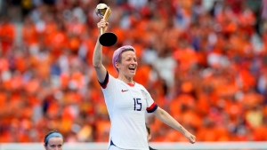 Rapinoe fuses politics, pay and tech with World Cup win