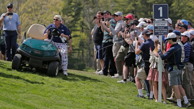 John Daly withdraws from British Open after being denied golf cart